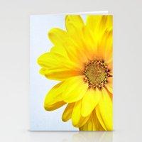 Sunrise Daisy Stationery Cards