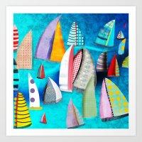 Regatta Segelbilder Mari… Art Print