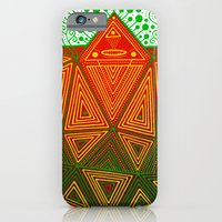 iPhone & iPod Case featuring Yello Warrior by Cosmic Nuggets