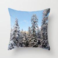 Wonderland Throw Pillow