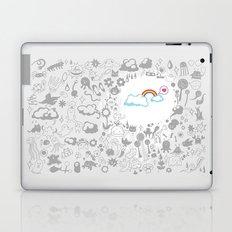 A Rainbow in My Heart Laptop & iPad Skin