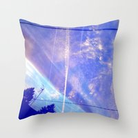 Cloud Study pt4 Throw Pillow