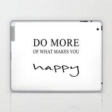 happy more Laptop & iPad Skin