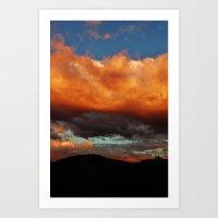 HEAVENLY Art Print