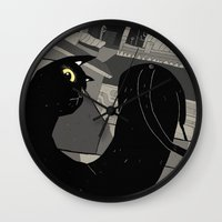 The Gato. Wall Clock