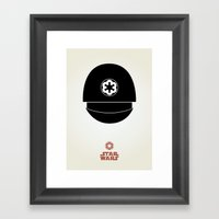 Imperial Gunner Framed Art Print