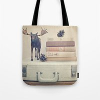 We Took To The Woods Tote Bag