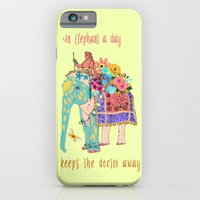an Elephant a day iPhone 6 Slim Case