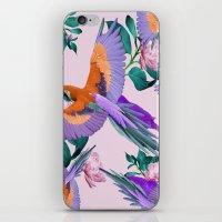 Parrot Paradise (Pink) iPhone & iPod Skin