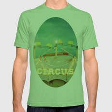 Circus II Mens Fitted Tee Grass SMALL