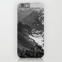 iPhone Cases featuring Archangel Valley by Kevin Russ