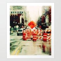 B U M P . Art Print
