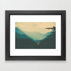 HOLOCENE Framed Art Print