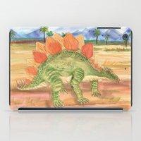 Stegosaurus iPad Case