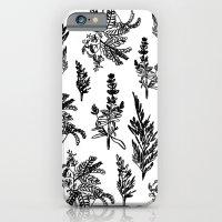 iPhone & iPod Case featuring fleur noir by Estelle F