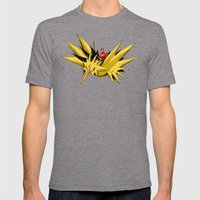 Flash-Dos Mens Fitted Tee Tri-Grey SMALL