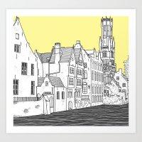 Bruges Art Print