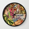 HE WAS A POET AND DIDN'T KNOW IT Wall Clock
