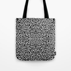 Psychedelic Rorschach Tote Bag