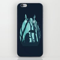 My Neighbor Totoro iPhone & iPod Skin