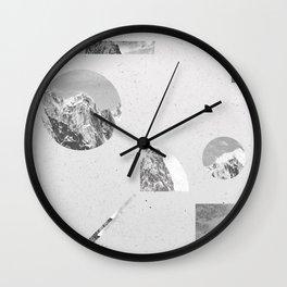 Wall Clock - monochromatic - .eg.