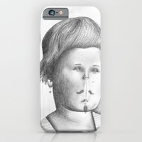 Mustached Girl  iPhone 6 Slim Case