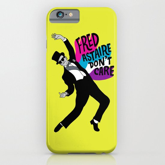 He Don't Care iPhone & iPod Case