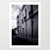 Dark day in San Juan Art Print