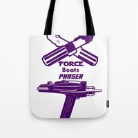 Force Beats Phaser Tote Bag
