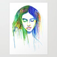Sadness is a Blessing Art Print