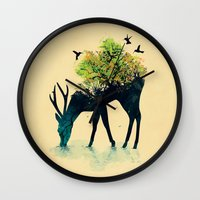 Watering (A Life Into It… Wall Clock