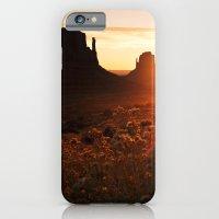 Sunrise in Monument Valley iPhone 6 Slim Case