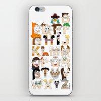 P&F Alphabet iPhone & iPod Skin