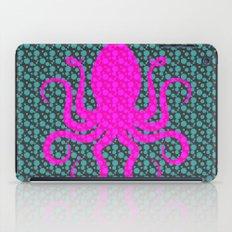 Pink Octopus iPad Case