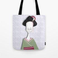 Mrs Wasabi Tote Bag