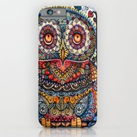 Magic  graphic owl  painting iPhone 6 Slim Case