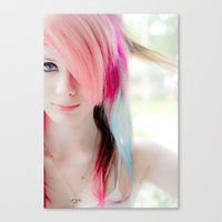 Canvas Print featuring Manic by Jaime Lynn Photography