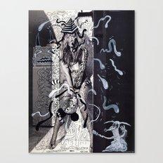 Psychoactive Bear 5 Canvas Print