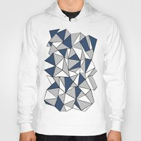 Abstraction Lines With N… Hoody