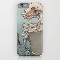 iPhone & iPod Case featuring Evolution of a Mermaid by jewelwing
