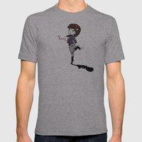 Touch Me ! Mens Fitted Tee Athletic Grey SMALL
