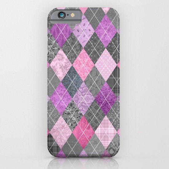 Magic Argyle Quilt iPhone & iPod Case