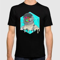Psychonaut - Light Mens Fitted Tee Black SMALL