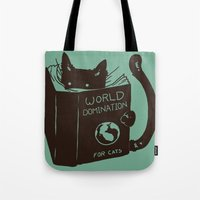 World Domination For Cat… Tote Bag