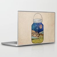 star trek Laptop & iPad Skins featuring Star Jar by Jenndalyn