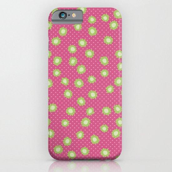 Pop Flowers florettes pink iPhone & iPod Case