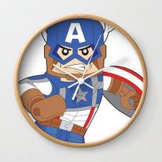 Lego Captain Wall Clock