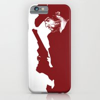 iPhone Cases featuring The Red Dead Redemption by Peter Forsman