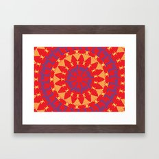 Arabian Tribal Framed Art Print