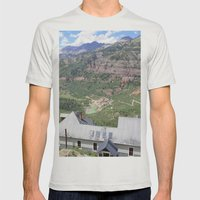 The View Mens Fitted Tee Silver SMALL